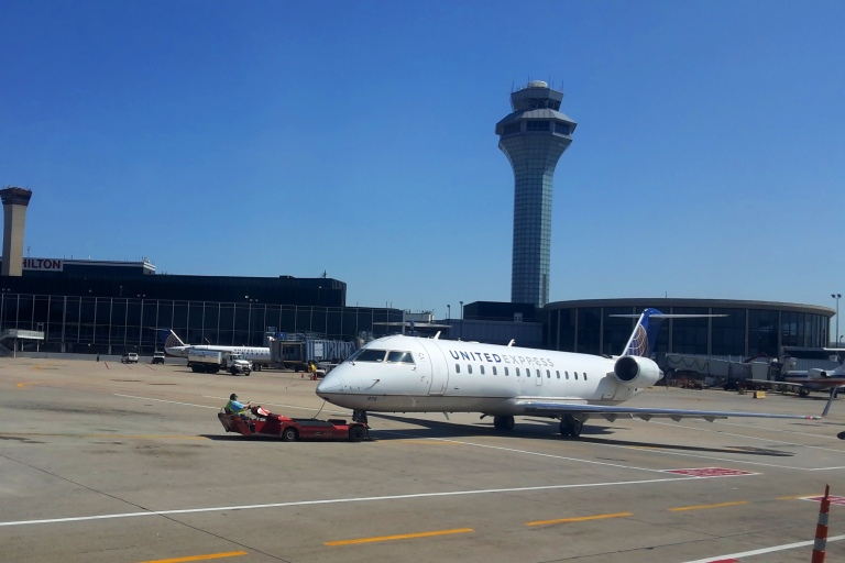 United ERJ-145 from Chicago O'Hare to Cedar Rapids.