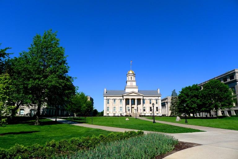 The Pentacrest - center of downtown Iowa City