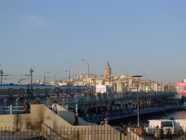 Galata Towe in the distance